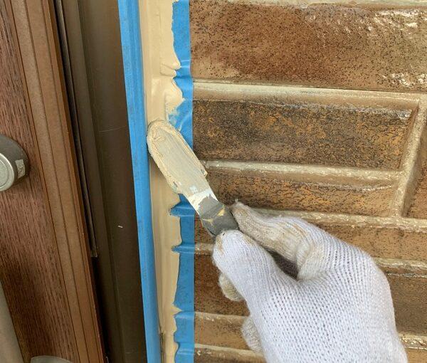 群馬県前橋市 N様邸 外壁塗装 屋根塗装 シーリング(コーキング)工事の手順 オートンイクシード (7)