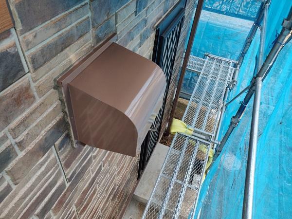 群馬県前橋市 N様邸 外壁塗装 屋根塗装 付帯部塗装 換気フード、雨樋塗装 (4)