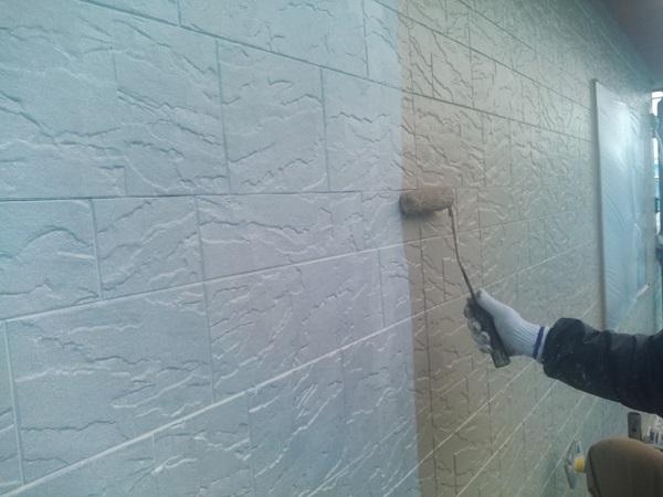群馬県前橋市 N様邸 外壁塗装 屋根塗装 付帯部塗装 外壁2階塗装 ガイソーウォール無機フッ素 (8)