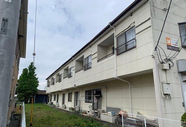 群馬県太田市 Sアパート 外壁塗装・屋根塗装・付帯部塗装