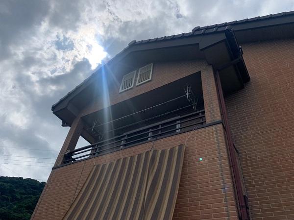 群馬県桐生市 S様邸 外壁塗装・付帯部塗装 塗り替え時期の目安 施工前の状態 (4)