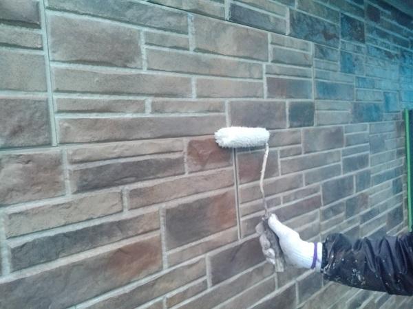 群馬県前橋市 N様邸 外壁塗装 屋根塗装 付帯部塗装 外壁1階塗装 ガイソーウォール無機クリヤー (3)