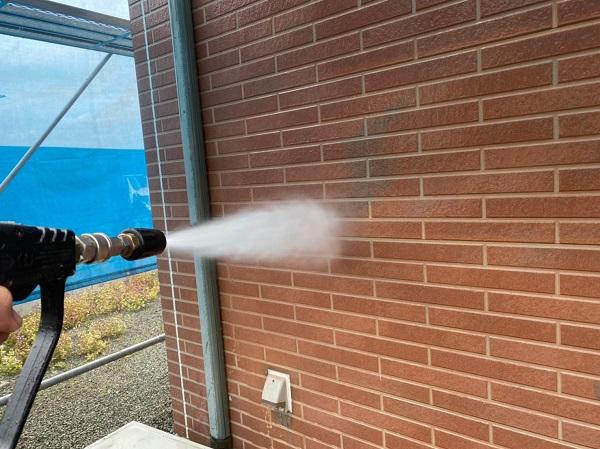 群馬県桐生市 S様邸 外壁塗装・付帯部塗装 下地処理 バイオ高圧洗浄 ガイソーパワークリーナー (7)