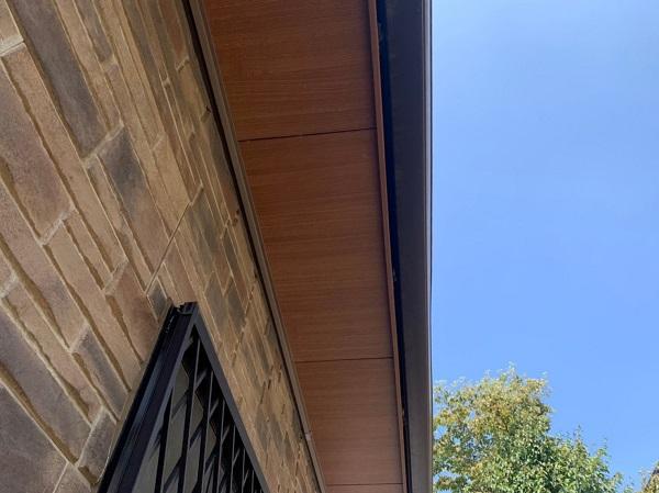 群馬県前橋市 N様邸 外壁塗装 屋根塗装 付帯部塗装 軒天補修 日本ペイント ケンエースGII (2)