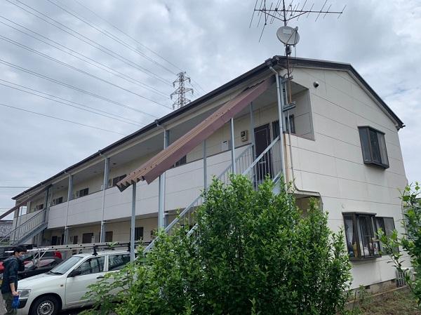 群馬県太田市 Sアパート 外壁塗装・屋根塗装・付帯部塗装 (6)