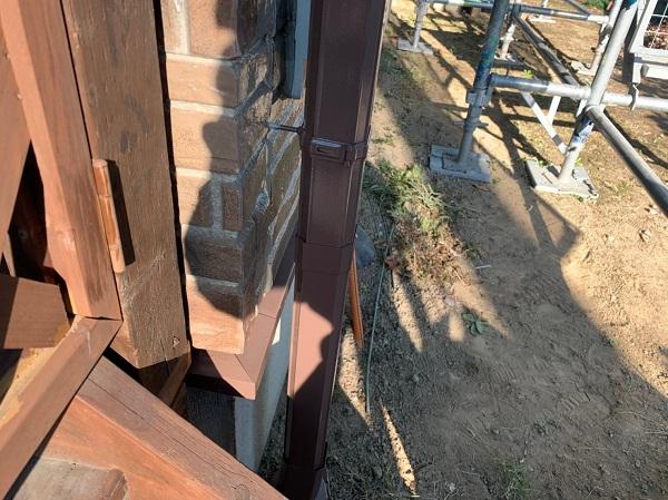 群馬県前橋市 N様邸 外壁塗装 屋根塗装 付帯部塗装 換気フード、雨樋塗装 (1)