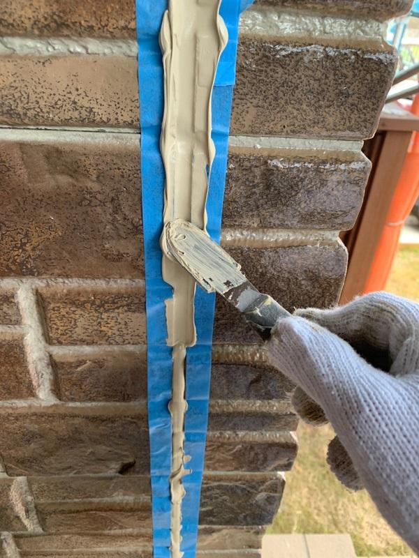 群馬県前橋市 N様邸 外壁塗装 屋根塗装 シーリング(コーキング)工事の手順 オートンイクシード (8)