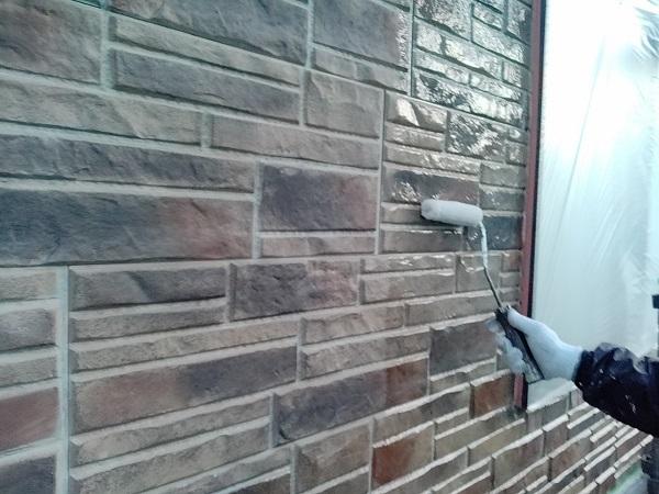 群馬県前橋市 N様邸 外壁塗装 屋根塗装 付帯部塗装 外壁1階塗装 ガイソーウォール無機クリヤー (2)