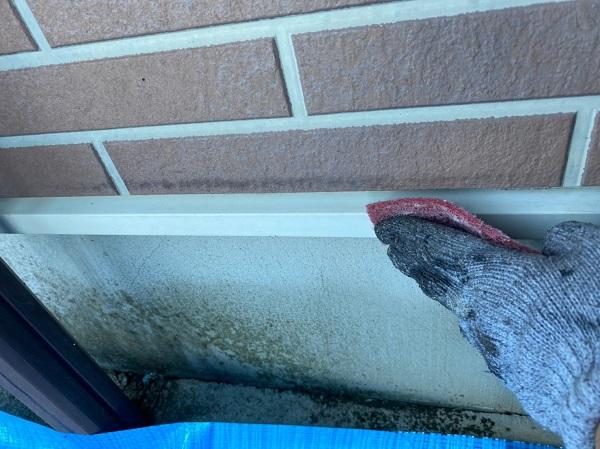 群馬県桐生市 S様邸 外壁塗装・付帯部塗装 雨戸 土台水切り (2)