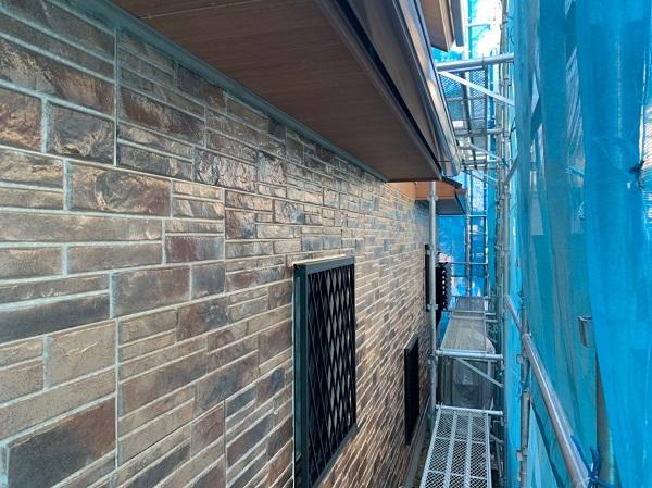 群馬県前橋市 N様邸 外壁塗装 屋根塗装 付帯部塗装 軒天補修 日本ペイント ケンエースGII (1)