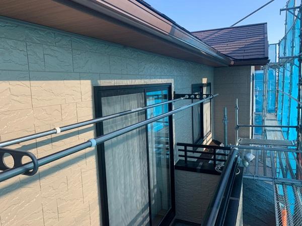 群馬県前橋市 N様邸 外壁塗装 屋根塗装 付帯部塗装 外壁2階塗装 ガイソーウォール無機フッ素 (5)