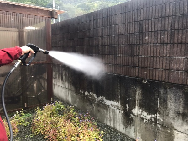 群馬県桐生市 S様邸 外壁塗装・付帯部塗装 下地処理 バイオ高圧洗浄 ガイソーパワークリーナー (10)