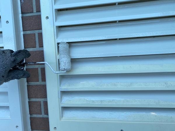 群馬県桐生市 S様邸 外壁塗装・付帯部塗装 雨戸 土台水切り (6)