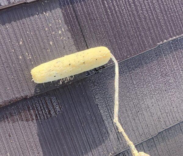 群馬県伊勢崎市 N様邸 屋根塗装 外壁塗装 スレート屋根 縁切りとは 日本ペイント パーフェクトベスト (8)