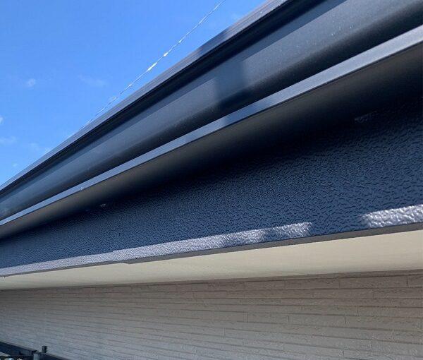 群馬県伊勢崎市 N様邸 屋根塗装 外壁塗装 雨樋・鼻隠し塗装 軒樋交換 (2)