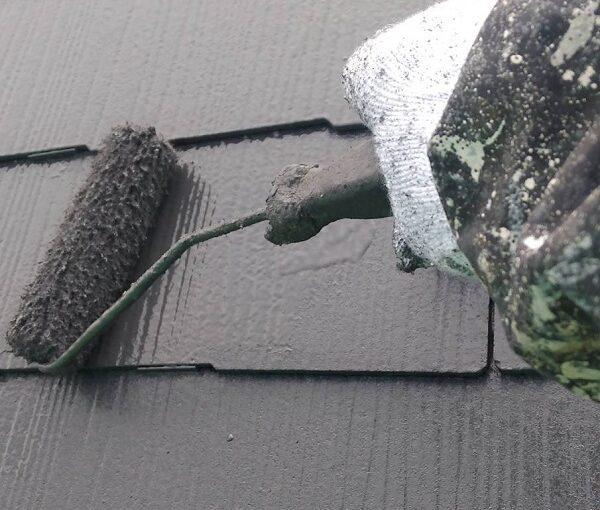 群馬県伊勢崎市 N様邸 屋根塗装 外壁塗装 スレート屋根 縁切りとは 日本ペイント パーフェクトベスト (4)