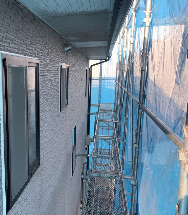 群馬県伊勢崎市 N様邸 屋根塗装 外壁塗装 付帯部塗装 (1)