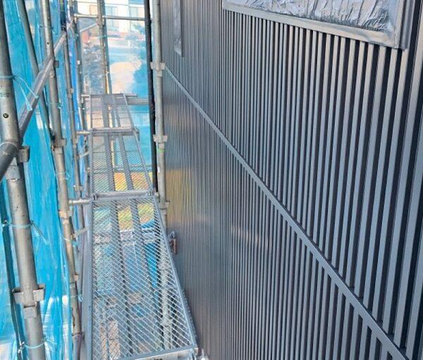群馬県伊勢崎市 S様邸 外壁塗装・屋根塗装・付帯部塗装 4度塗りの理由 ガイソー タフネスシリコンⅡ1 (4)