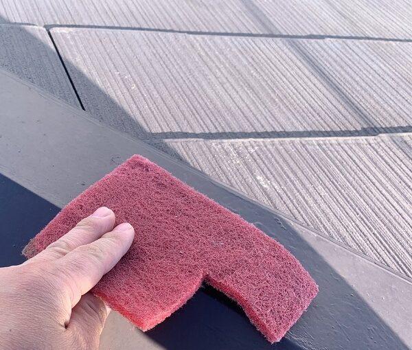 群馬県伊勢崎市 N様邸 屋根塗装 外壁塗装 棟板金の補修・塗装 GTエポプライマー (1)