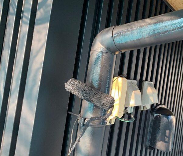 群馬県伊勢崎市 S様邸 外壁塗装・屋根塗装・付帯部塗装 雨樋、鼻隠し塗装 (9)