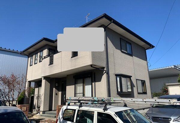 群馬県伊勢崎市 N様邸 屋根塗装 外壁塗装 付帯部塗装 雨樋交換