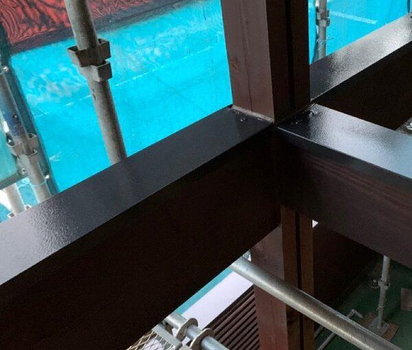群馬県伊勢崎市 S様邸 外壁塗装・屋根塗装・付帯部塗装 鉄部塗装 笠木とは (2)