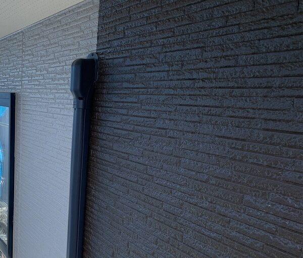 群馬県伊勢崎市 N様邸 屋根塗装 外壁塗装 2色仕上げ 日本ペイント パーフェクトトップ ラジカル制御式1 (1)