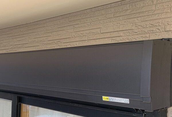 群馬県伊勢崎市 N様邸 屋根塗装 外壁塗装 シャッターボックス、庇塗装 鉄部塗装に重要なケレン作業 (5)