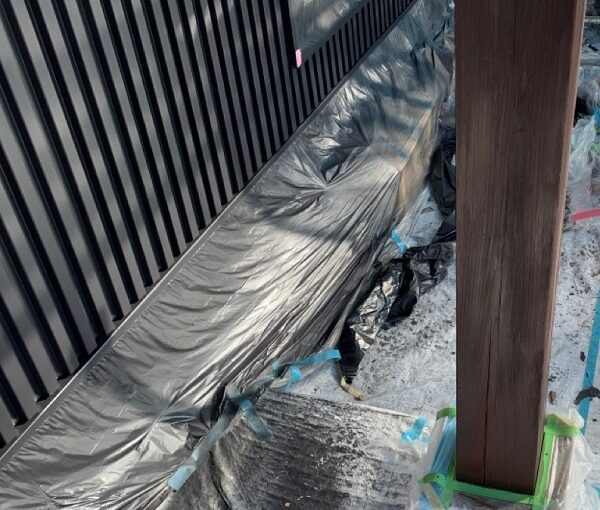 群馬県伊勢崎市 S様邸 外壁塗装・屋根塗装・付帯部塗装 木部塗装 浸透タイプと造膜タイプの違い (6)
