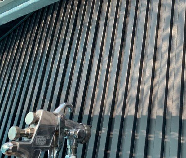 群馬県伊勢崎市 S様邸 外壁塗装・屋根塗装・付帯部塗装 4度塗りの理由 ガイソー タフネスシリコンⅡ1 (2)