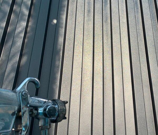 群馬県伊勢崎市 S様邸 外壁塗装・屋根塗装・付帯部塗装 4度塗りの理由 ガイソー タフネスシリコンⅡ1 (3)
