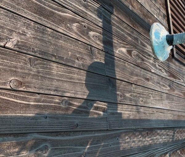 群馬県伊勢崎市 S様邸 外壁塗装・屋根塗装・付帯部塗装 木部塗装 浸透タイプと造膜タイプの違い1 (1)