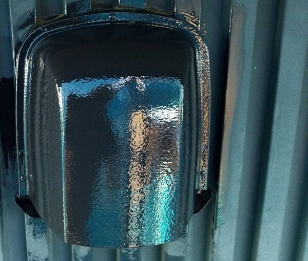 群馬県伊勢崎市 S様邸 外壁塗装・屋根塗装・付帯部塗装 付帯部とは 換気口の塗装 (5)