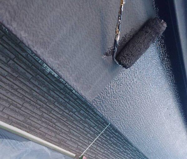 群馬県伊勢崎市 N様邸 屋根塗装 外壁塗装 雨樋・鼻隠し塗装 軒樋交換 (6)