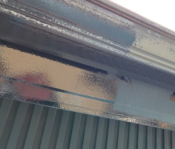 群馬県伊勢崎市 S様邸 外壁塗装・屋根塗装・付帯部塗装 雨樋、鼻隠し塗装 (5)