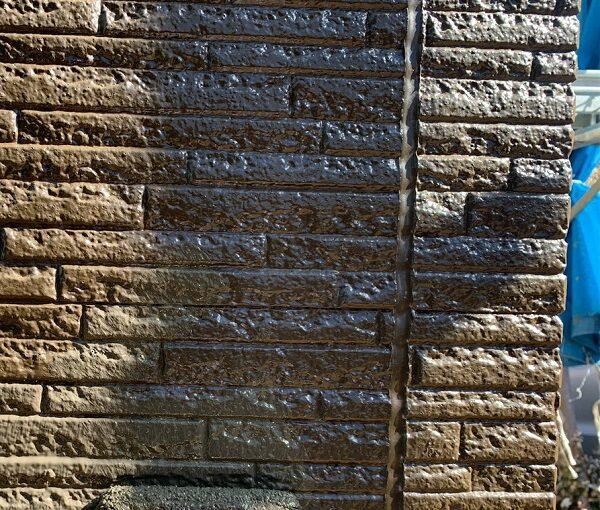 群馬県伊勢崎市 N様邸 屋根塗装 外壁塗装 2色仕上げ 日本ペイント パーフェクトトップ ラジカル制御式1 (3)