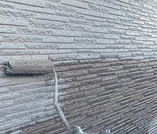 群馬県伊勢崎市 N様邸 屋根塗装 外壁塗装 2色仕上げ 日本ペイント パーフェクトトップ ラジカル制御式 (5)