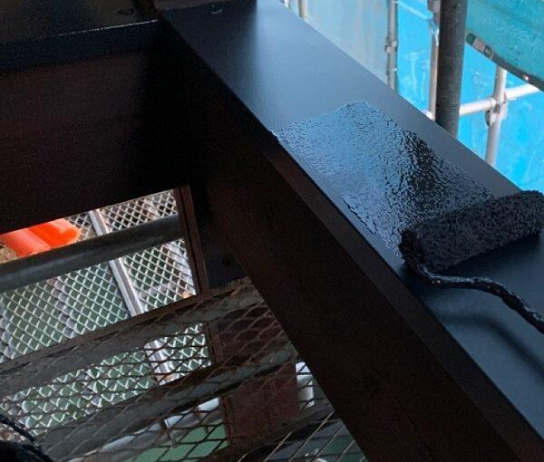 群馬県伊勢崎市 S様邸 外壁塗装・屋根塗装・付帯部塗装 鉄部塗装 笠木とは (1)