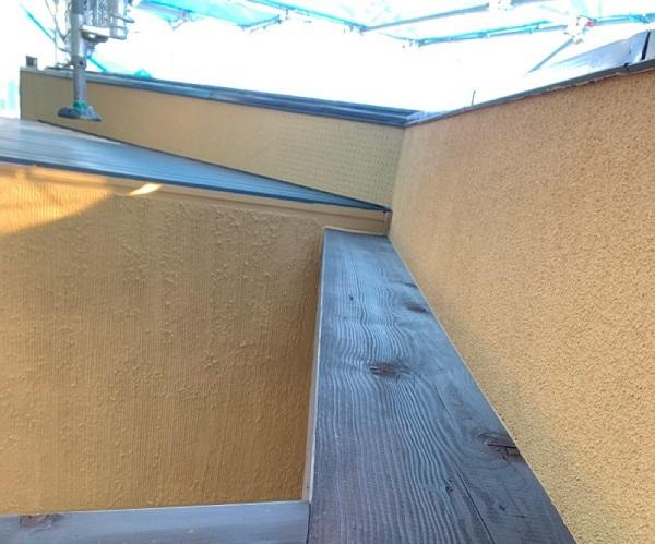 群馬県伊勢崎市 S様邸 外壁塗装・屋根塗装・付帯部塗装 木部塗装 浸透タイプと造膜タイプの違い (5)