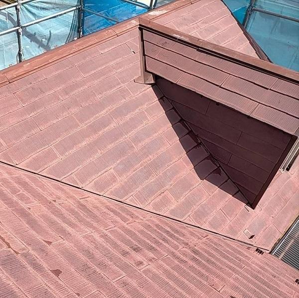 群馬県佐波郡玉村町 K様邸 屋根塗装 外壁補修 (2)