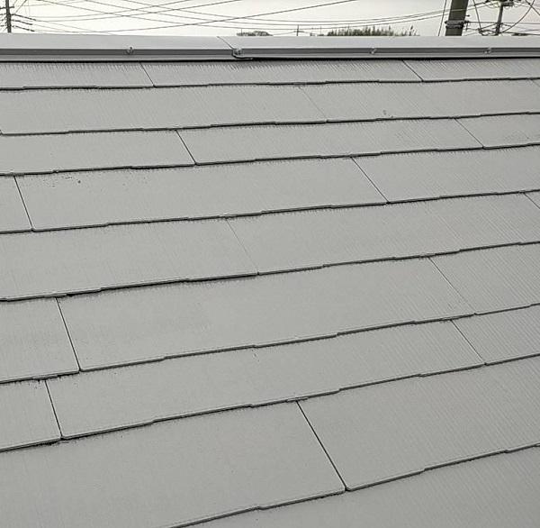 群馬県佐波郡玉村町 K様邸 屋根塗装 外壁補修 (1)