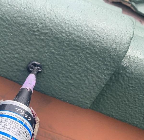 群馬県前橋市 K様邸 屋根塗装・外壁塗装・付帯部塗装 ケラバ瓦補修 ガイソールーフガードネオMUKI(遮熱) (4)