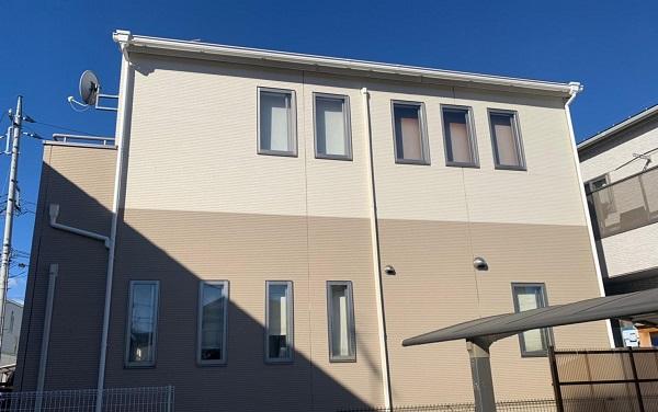 群馬県前橋市 G様邸 外壁塗装・付帯部塗装 施工前の状態 チョーキング現象 (4)