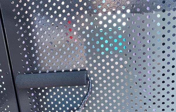 群馬県邑楽郡 アパート 屋根塗装・外壁塗装・付帯部塗装 鉄骨階段、パンチング塗装 集合住宅は外観の美しさも入居の決め手です! (7)