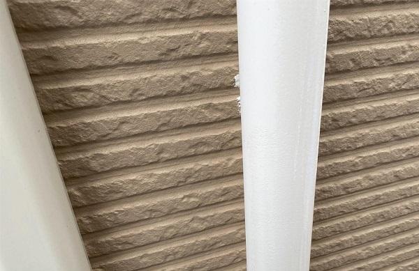 群馬県前橋市 G様邸 外壁塗装・付帯部塗装 雨樋の塗装 縦樋、軒樋 (6)