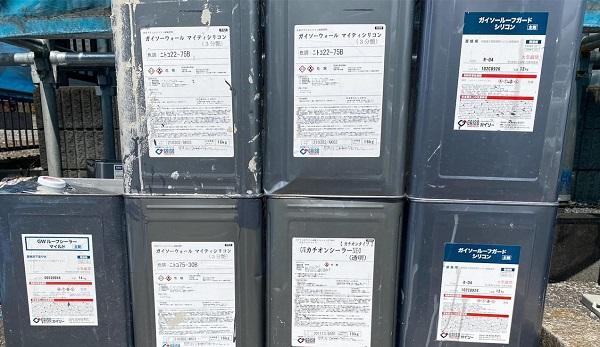 群馬県邑楽郡 アパート 屋根塗装・外壁塗装・付帯部塗装3 (1)