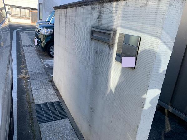 群馬県前橋市 G様邸 外壁塗装・付帯部塗装 施工前の状態 チョーキング現象 (6)
