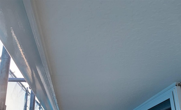 群馬県高崎市 I様邸 外壁塗装・付帯部塗装 軒天塗装 軒天の劣化症状 (4)
