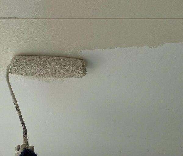 群馬県前橋市 G様邸 外壁塗装・付帯部塗装 軒天、軒裏天の塗装 役割とは (1)