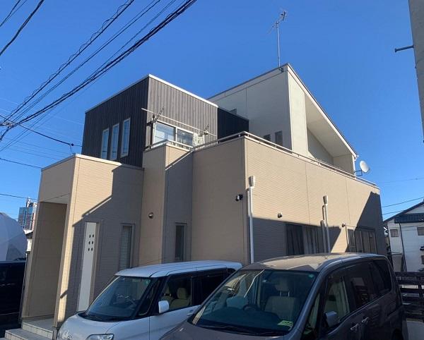 群馬県前橋市 G様邸 外壁塗装・付帯部塗装 施工前の状態 チョーキング現象 (3)